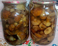 Рецепт консервованих грибочків