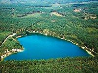Мальовничі блакитні озера на Чернігівщині
