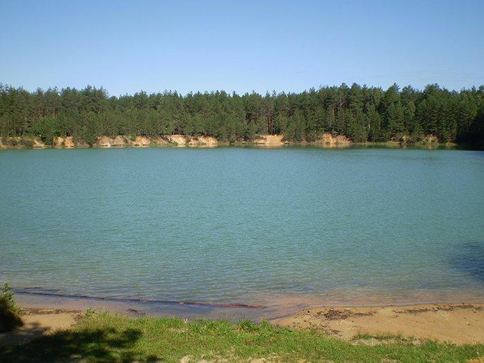 Найбільше озеро з трьох