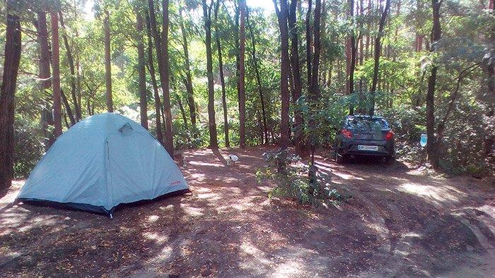 Розташування нашого табору