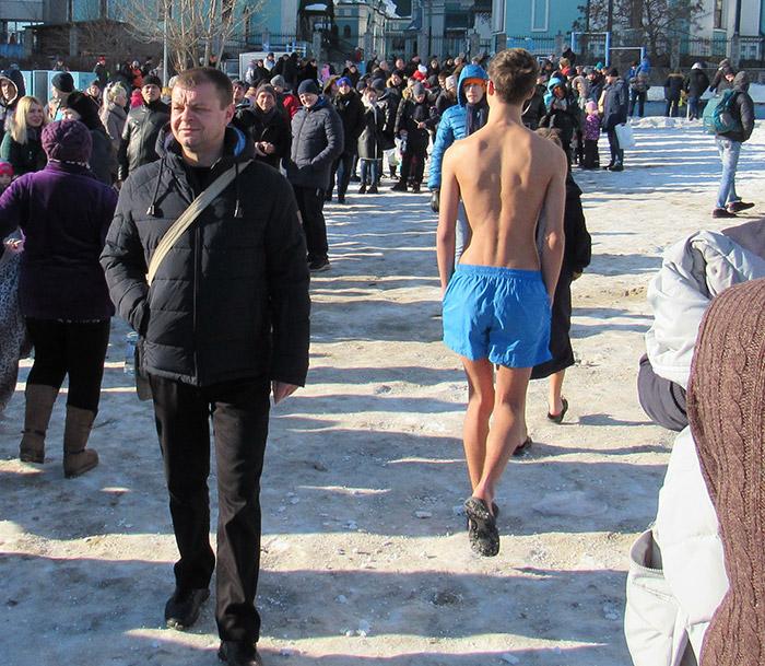 Прогулянки морозним пляжем