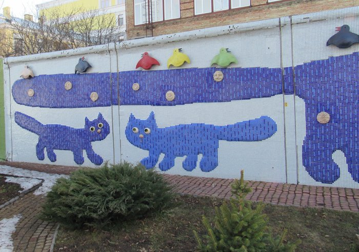 Третій та четвертий коти