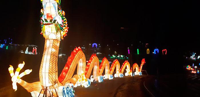 Зірка вистави – 40-ка метровий дракон