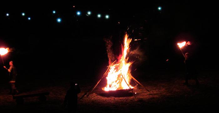 Друге спалення солом'яного чучела (марени)