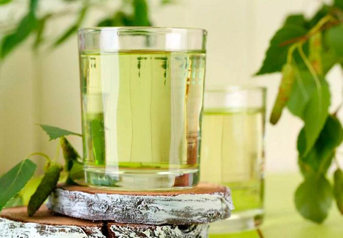 Склянка березового соку
