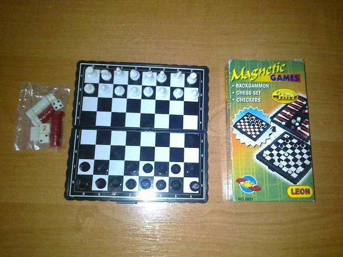 Дорожній набір ігор