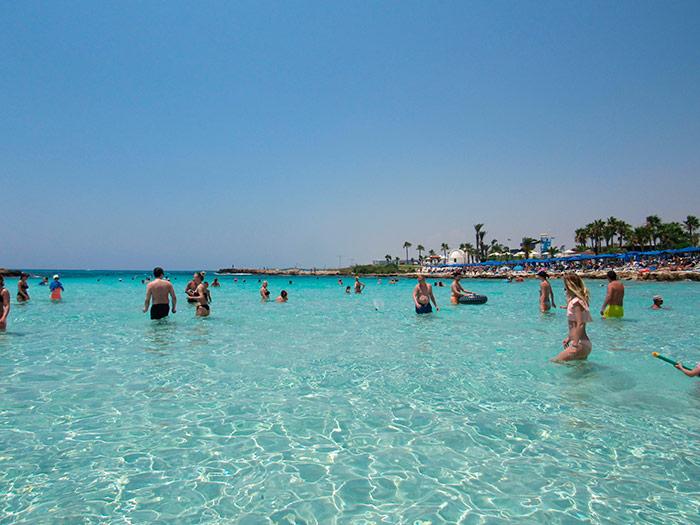 Море пляжу Ніссі