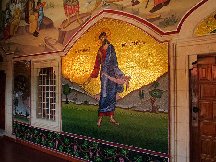 Мозаїка на стінах