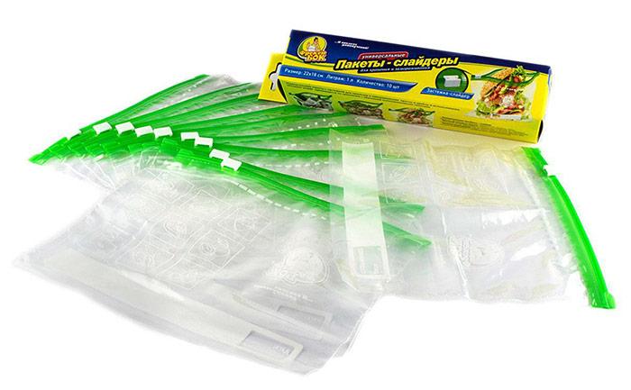 Пакети-слайдери із застібкою