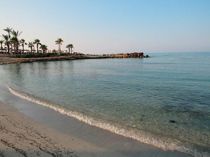 Пляж Адамс вранці