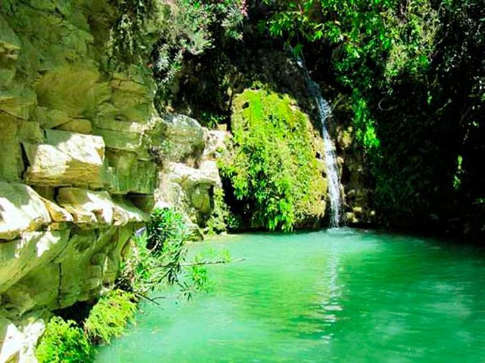 Водоспад в купальні Афродіти
