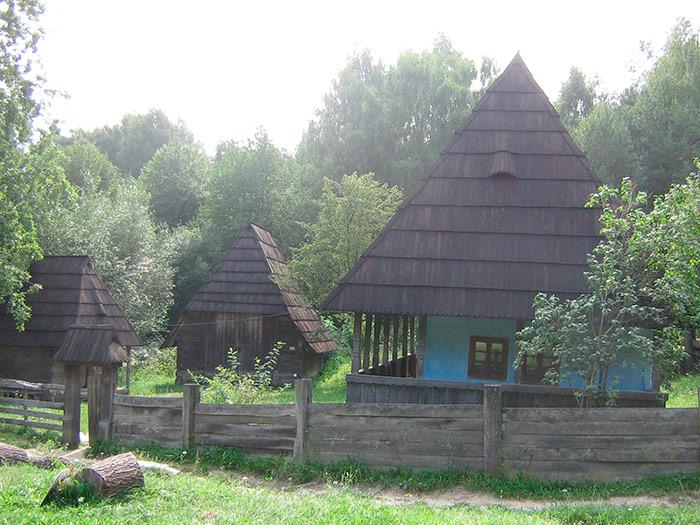 Будівля в Карпатах