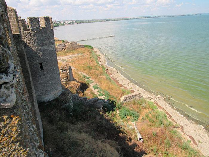 Дністровський лиман за межами фортеці