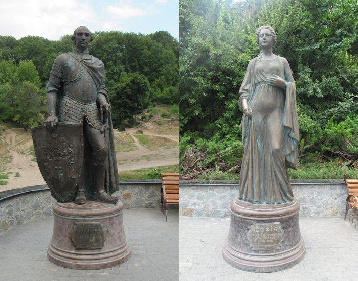 Станіслав Потоцький та його дружина Софія