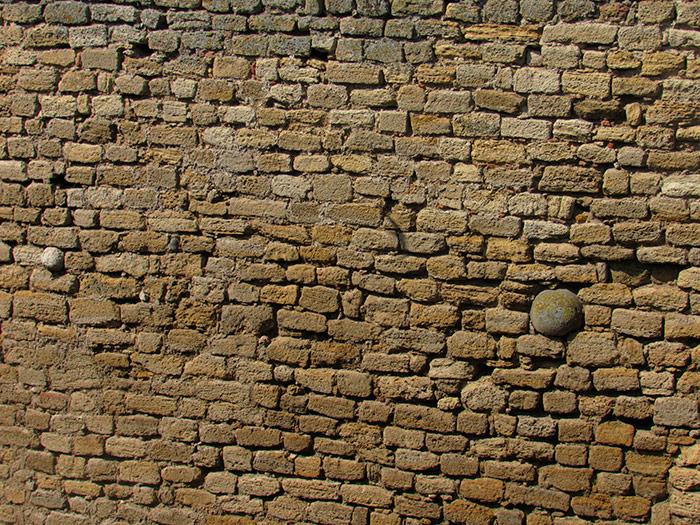 Стіна фортеці з ядром