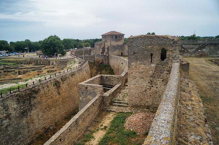 Сучасний вид стін фортеці