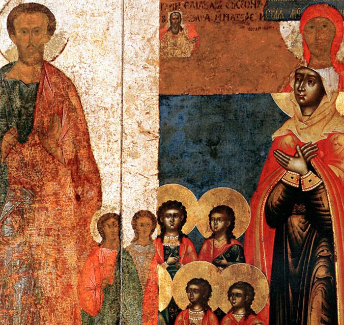 Вчитель Єлеазар, брати Маковії та їх мати Соломонія