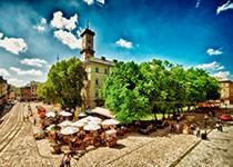 Площа Ринок в місті Львів