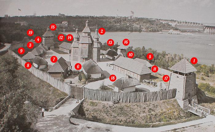Мапа «Запорізької Січі»
