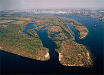 Острів Хортиця - Південна частина