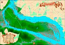 Острів Хортиця - Північна частина