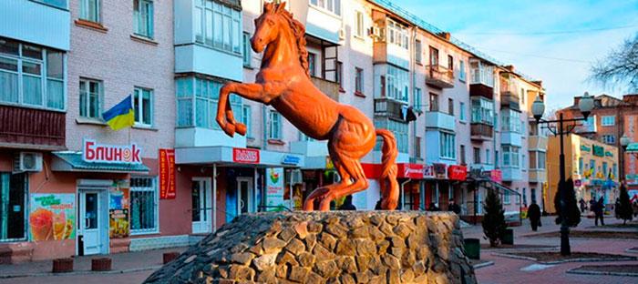 Пам'ятник коню в Конотопі