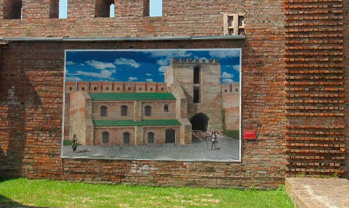 Вигляд палацу на думку археологів