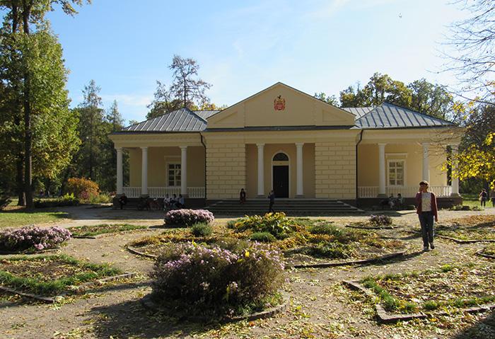 Аустерія – літня резиденція Браницьких