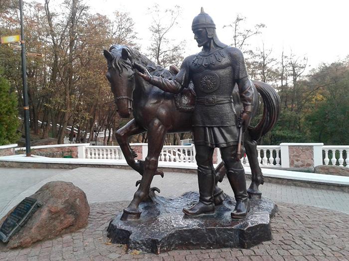 Добриня Нікітіч з конем