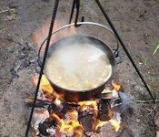 Рецепт кулішу без сала