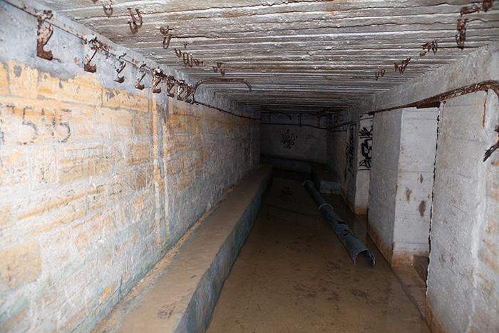 Підготовленні приміщення катакомб
