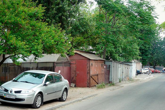Вхід до катакомб на Молдаванці