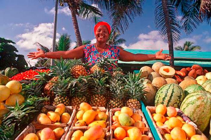 Фрукти в Домінікані