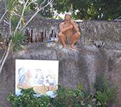 Парк конкістадорів - історія племені таїно