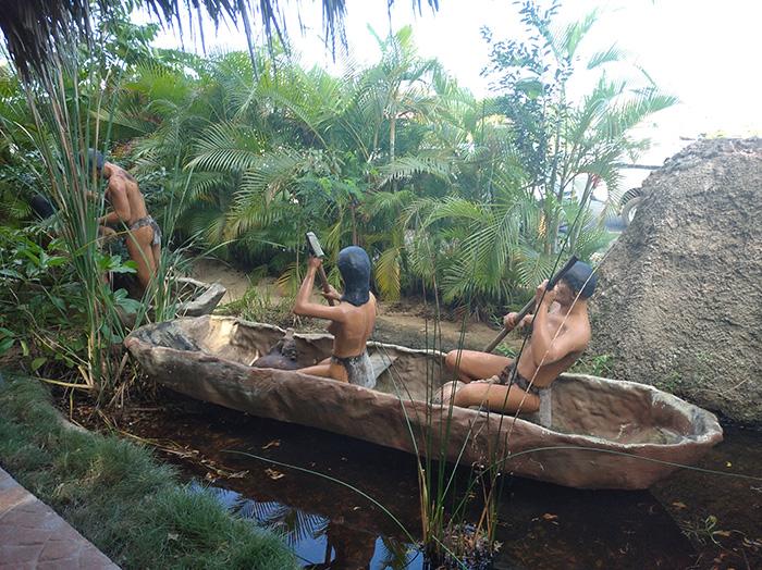Таїно припливають на освоєння нових територій
