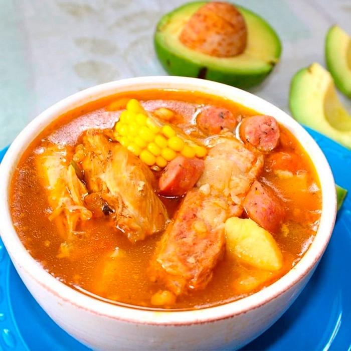 Традиційний суп санкочо