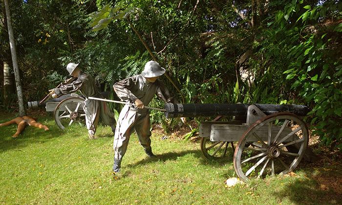 Воєнне обладнання іспанців
