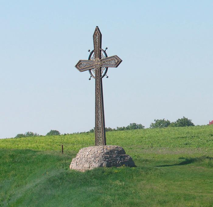 Хрест вшанування загиблих воїнів
