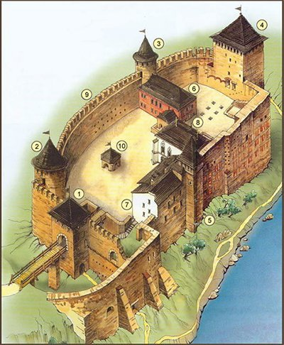 Мапа замку