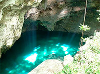 Печера з сульфатними озерами - Три ока
