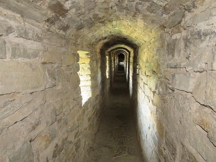 Тунель від Рожанки до Комендантської і Лянцкоронської веж