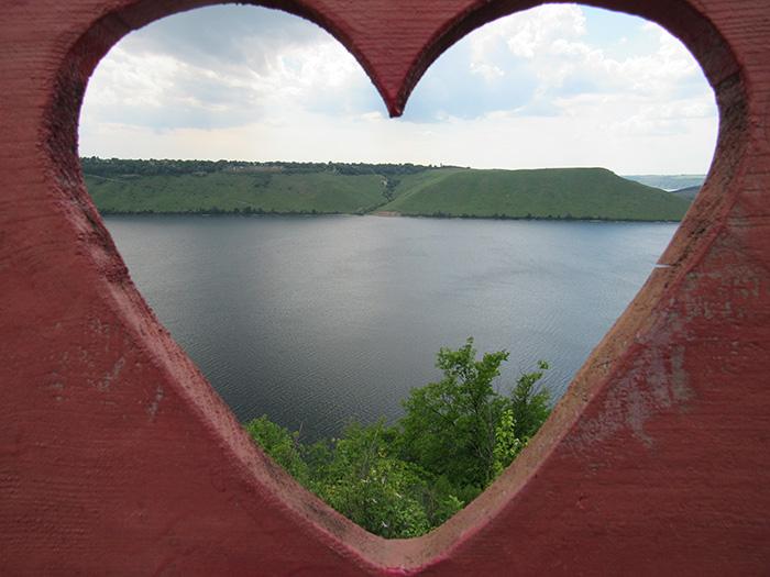 Вид на Бакоту через серце