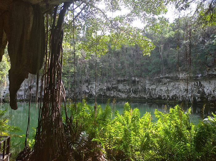 Вид на озеро Лос-Зарамагуллонес