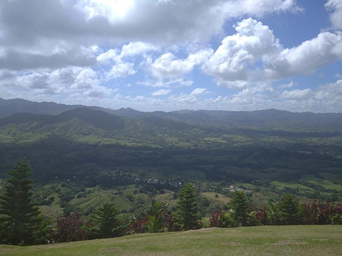 Вид на Центральні Кордильєри